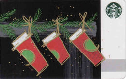 South Africa Starbucks Mint Card, Christmas - Cartes Cadeaux