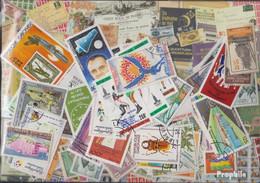Gabun Briefmarken-300 Verschiedene Marken - Gabun (1960-...)