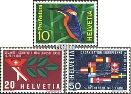 Suisse 833-835 (complète.édition) Neuf Avec Gomme Originale 1966 Années Événements - Switzerland