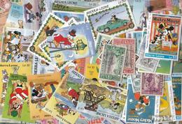 Sierra Leone Briefmarken-500 Verschiedene Marken - Sierra Leone (1961-...)
