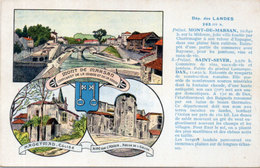 LANDES - Mont De Marsan - Hagetmau - Aire Sur Adour - Edition Spéciale Des Pastilles Valda     (113995) - France