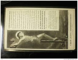 Doodsprentje Image Mortuairejuffer Julie Matthys Drongen 1840-1906 - Décès