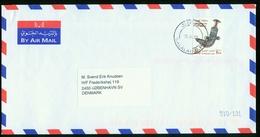 BR Oman Air Mail Cover Sent To Denmark | Salalah 29.4.2001 - Oman