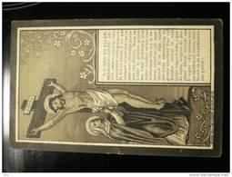 Doodsprentje Image Mortuaire Lucie Van Loocke Wed Carolus Ludovicus De Muyt Aeltre Aalter 1828 Drongen 1906 - Décès