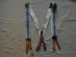 Vintage - Paire De Bretelles Pour Homme - Vintage Clothes & Linen