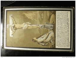 Doodsprentje Image Mortuaire Anelina Robyn Wed Bruno De Backer Nevele 1831-drongen 1906 - Décès