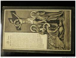 Doodsprentje Image Mortuaire Clemence De Volder Echtg; Alfred Van Quickelberghe Drongen 1880-1906 - Décès