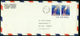 BR Canada Air Mail Cover Sent To Denmark   Tofield 7.5.1976 - Storia Postale