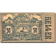 Billet, Autriche, Kirchham, 50 Heller, Village 1920-05-09, SPL Mehl:FS 446 - Autriche