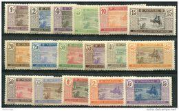 Mauritanie (1913) N 17 à 33 * (charniere) - Mauritania (1906-1944)
