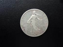 FRANCE : 1 FRANC   1908   F.217 / KM 844.1    TTB - France