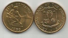 Philippines 5 Centavos 1963. High Grade - Filipinas