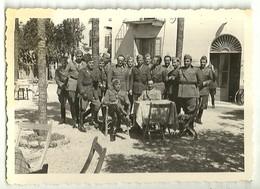 """3877 """" UFFICIALI ARTIGLIERIA R.E. II WW """" FOTO ORIGINALE - Guerra, Militari"""