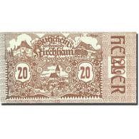 Billet, Autriche, Kirchham, 20 Heller, Village 1920-05-09, SPL Mehl:FS 446 - Autriche
