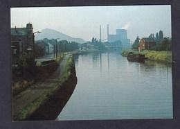 ROUX Canal Charleroi Bruxelles - Centrale D' Amercoeur ( Batellerie Peniche Editions De Graeve ) - Charleroi