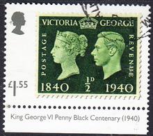 2019  Stamp Classics 2019 -  King George VI Stamp Of 1940  £1.55 - 1952-.... (Elizabeth II)