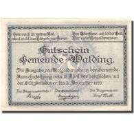 Billet, Autriche, Walding, 20 Heller, Eglise 1, 1920-12-31, SPL Mehl:FS 1132a - Autriche