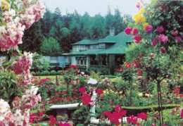 AL57 The Rose Garden, The Butchart Gardens, Victoria, B.C. - Victoria