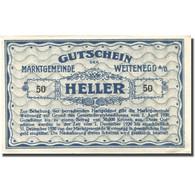 Billet, Autriche, Weitenegg A/d Donau 50 Heller, Château, 1920 SPL Mehl:FS 1163a - Autriche
