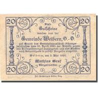 Billet, Autriche, Weibern, 20 Heller, Usine 1920-05-03, SPL Mehl:FS 1146b - Autriche