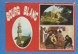"29 - BOURG-BLANC -  - EGLISE,  CHATEAU DU BREIGNOU,  FOLKLORE GROUPE ""HADERIEN JOA"" - Francia"