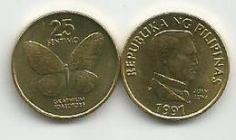 Philippines 25 Sentimo 1991. High Grade - Filippine