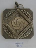 MEDAL  DRUGA SPORTSKA OLIMPIJADA SKOLSKE OMLADINE 1972 Vojvodina   KUT - Sports