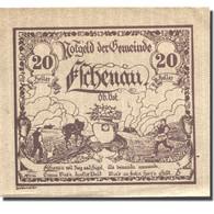 Billet, Autriche, Eschenau, 20 Heller, Agriculteur, 1921-03-31, SPL Mehl:FS 187a - Autriche