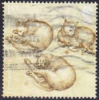 2019   Leonardo Da Vinci Sketchwork - Cats   1st - 1952-.... (Elizabeth II)