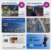 Lot De 5 Cartes Téléphoniques Grecques. Tourisme, Faune, Art... (Voir 2 Images) Grèce Greece Griechenland - Grèce