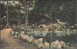 The Ponds, Grove Park, Weston Super Mare, Somerset, 1909 - LBW Postcard - Weston-Super-Mare
