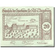 Billet, Autriche, Kilb, 20 Heller, Château 1921-12-31, SUP Mehl:FS 437IIIc - Autriche