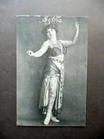 Cartolina Tatuaggi Tattoo Sylvia Spettacolo Primo Novecento Rara - Non Classificati