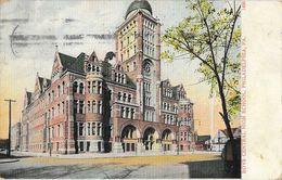 Boys Central High School, Philadelphia PA - Post Card A.C. Bosselmann & Co. N°1450 - Philadelphia