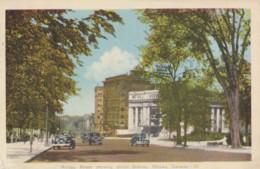 AQ30 Rideau Street Showing Union Station, Ottawa, Canada - Vintage Cars - Ottawa