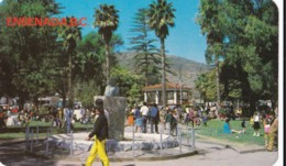 AQ30 Ensenada, B.C., Monumento Y Kiosko Del Jardin Principal - Mexico