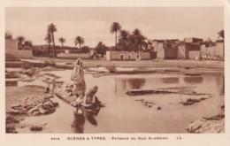 AQ30 Ethnic - Scenes Y Types, Paysage Du Sud Algerien - LL - Africa