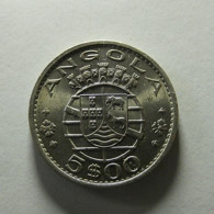 Portuguese Angola 5 Escudos 1972 Varnished - Portugal