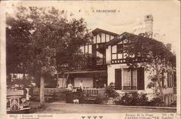 D40  CAPBRETON  Hôtel Pension Restaurant PRIMEROSE Avenue De La Plage  ........ Vue Peu Courante - Capbreton
