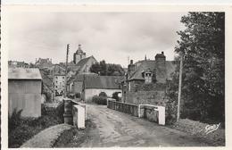 Carte Postale Ancienne Glacée De La Trinité -porhoet Le Pont Saint Judicël - France