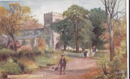 AN16 Great Missenden Church - C1908 Tuck Oilette - Buckinghamshire