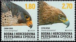 Bosnia & Herzegovina - Republika Srpska - 2019 - Europa CEPT - National Birds - Mint Stamp Set - Bosnia And Herzegovina
