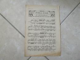 Paillasse (Drame Lyrique) -(Musique R. Léoncavallo)- Partition (Piano) - Instruments à Clavier