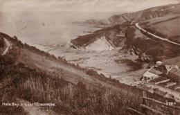 AS45 Hele Bay, Near Ilfracombe - RPPC - Ilfracombe