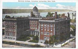 Manhattan - Barnard College, Columbia University, New York - Post Card W. N° 137 Non Circulated - Manhattan
