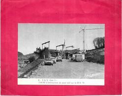 79T G V Get 3 - Construction Du Pont Rail Sur La R N  79  Le 3.04.80  -  ARD - - Ouvrages D'Art