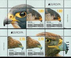 Bosnia & Herzegovina - Republika Srpska - 2019 - Europa CEPT - National Birds - Mint Stamp Panes Set - Bosnia And Herzegovina