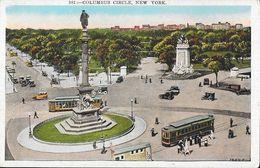 Manhattan - Columbus Circle, New York NY - Tramway - Post Card Co. Non Circulated - Manhattan