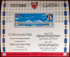 Bahrain 1997 Bridge Minisheet MNH - Bahrain (1965-...)