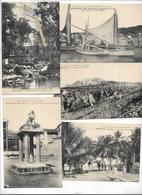 Lot De 7 Cpa Martinique ,vauclin, Saint-pierre,usine Rhummière, Moutte, Fort De France , Mont Pelé - Martinique